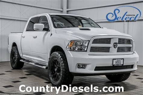 leveled ram 1500 2012 used ram 1500 sport leveled at country diesels