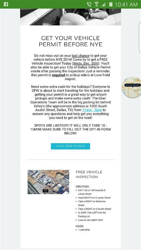 certification letter uber uber vehicle inspection vehicle ideas