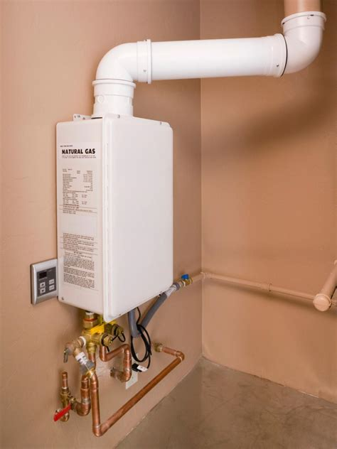Plumbing A Water Heater by Installing A Tankless Water Heater Mechanical Systems Hgtv