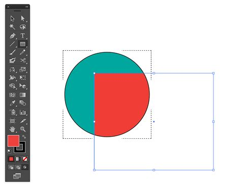 3 Drawing Modes In Illustrator by Shapes Illustrator Projection Of One Object Onto