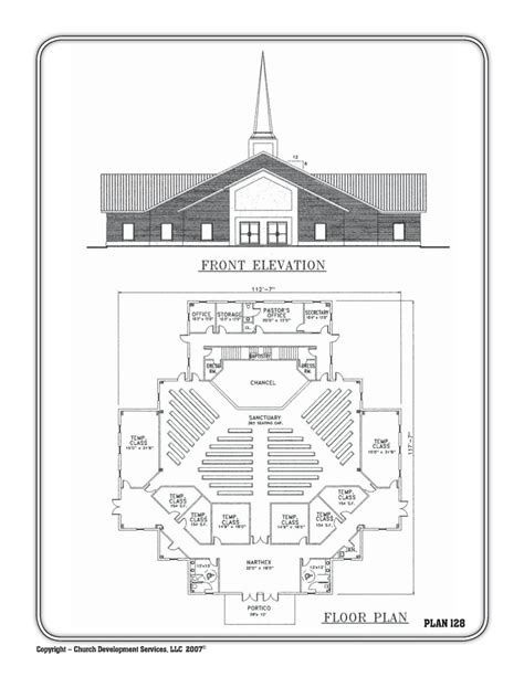Free Church Floor Plans | church floor plans free designs free floor plans