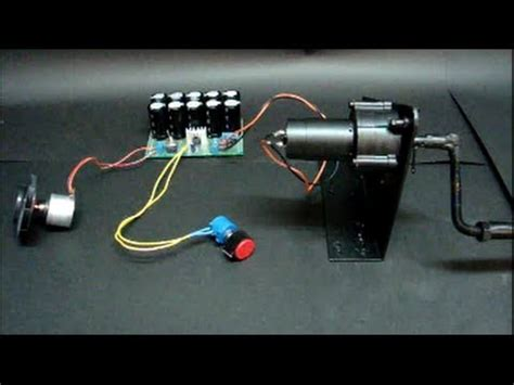 what does a capacitor on a generator do how to charge capacitors using a dc crank a tutorial how to make do everything