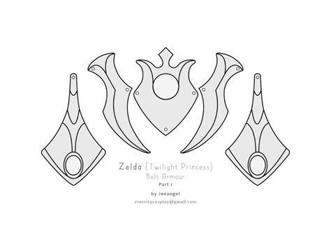 zelda crown pattern zelda twilight princess belt armor pattern cosplay amino