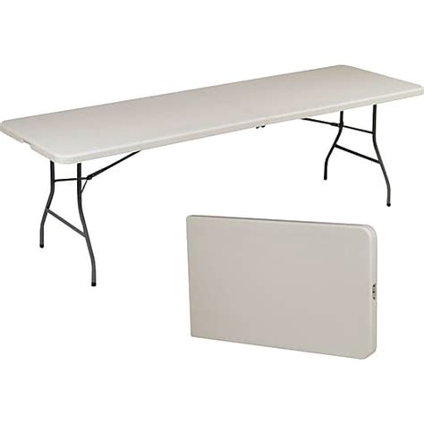fold in half folding table staples 174 8 fold in half folding table staples
