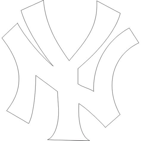 Free Ny Yankees Coloring Pages New York Yankees Coloring Pages