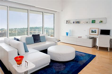 white rug living rooms and the pillow on pinterest royal blue area rug square living room white sofas table