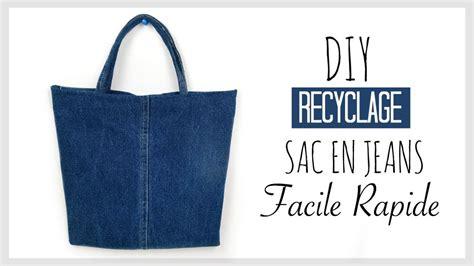 Faire Un Sac En Jean by Diy Recyclage Faire Un Sac Avec Un Vieux En Fran 199 Ais