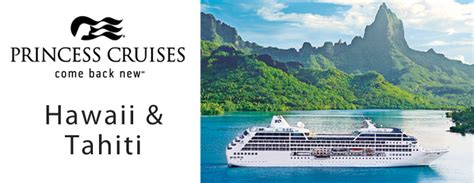 princess cruises to hawaii american way cruise vacations princess cruises hawaii