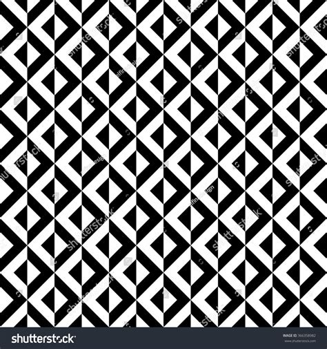 pattern black and white squares vector seamless geometric pattern black white stock vector