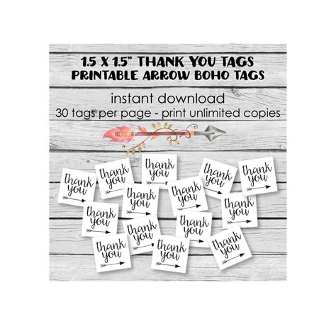 25 best ideas about thank you tags on thank boho tribal baby shower pictures ideas
