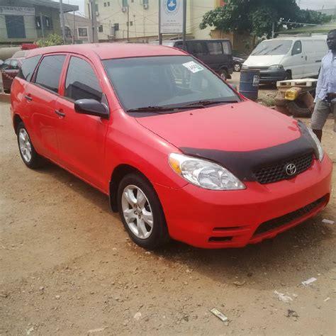 toyota matrix 2003 price in nigeria tokunbo toyota matrix 2003 n1 580 000 00 autos nigeria