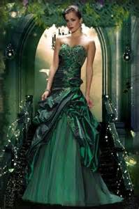 green wedding dresses beautiful and glamorous green