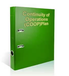 continuity of operations plan template disaster preparedness meals continuity of operations