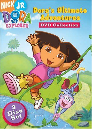 Dora The Explorer Dora S Ultimate Adventure Collection