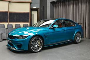 Blue Bmw M3 Atlantis Blue Bmw M3 With Light Brown Interior Is The King