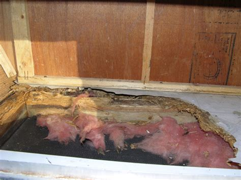 Repair Bathroom Floor Rotted How To Replace Rotted Wood Flooring In A Travel Trailer