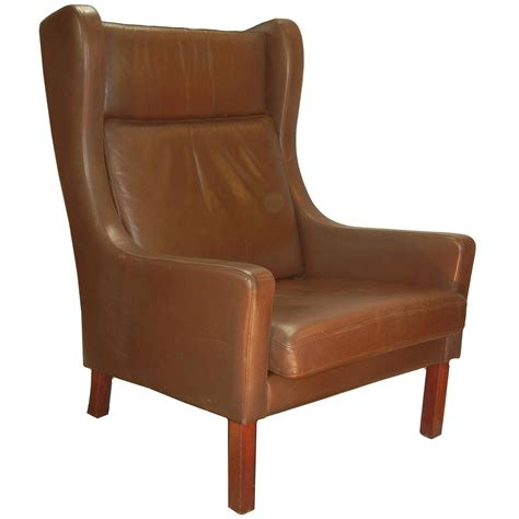 the most adorable style of contemporary wingback chair leather wing chair in danish modern b 248 rge mogensen style