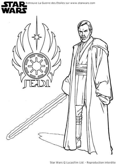 coloring pages wars awakens coloriage starwars jedi hugolescargot