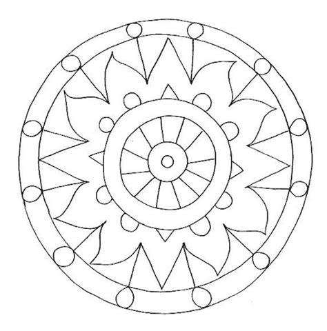 imagenes mandalas para niños dibujos y plantillas para imprimir dibujos mandalas