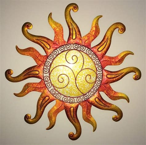 metal sun wall decor swirl sun wall glass metal sunburst decor sculpture