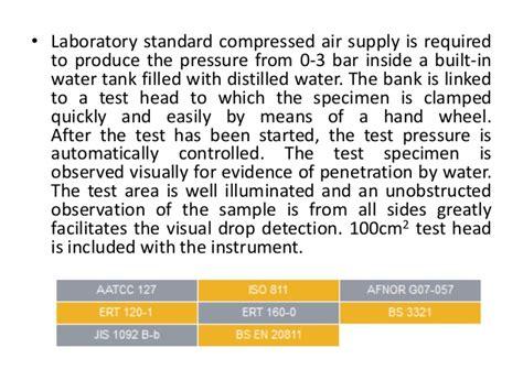 comfort test comfort testing