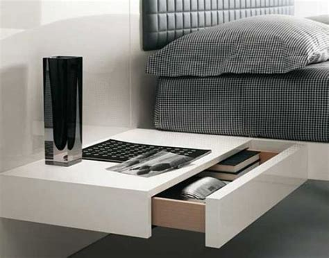minimalist bedside table 29 coolest floating nightstands and bedside tables digsdigs