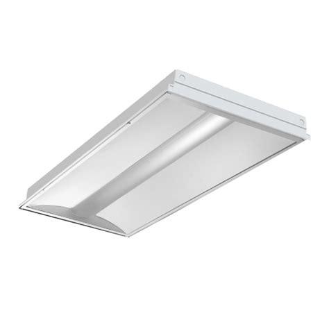 shallow recessed lighting 2x4 sdlc l3 1acf recessed direct indirect 2 x2 2 x4