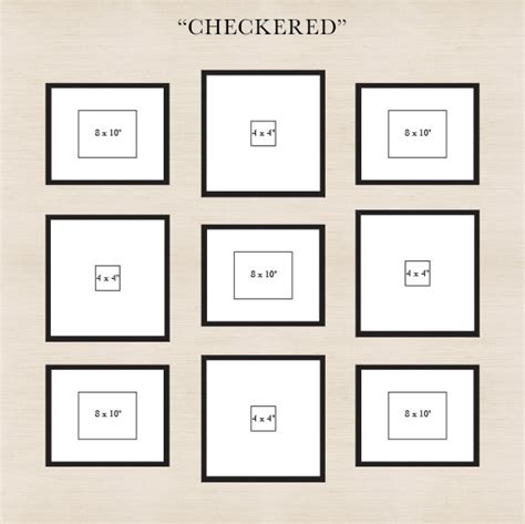 gallery wall layout how to create a gallery wall pottery barn