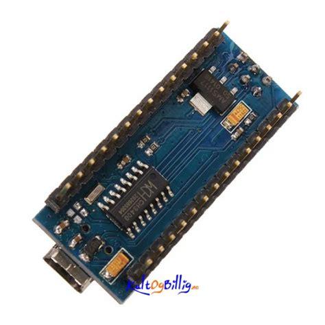 Arduino Nano 3 Ch340 Atmega328 Dengan Kabel Usb atmega328p arduino nano v3 kompatibelt kort usb kabel