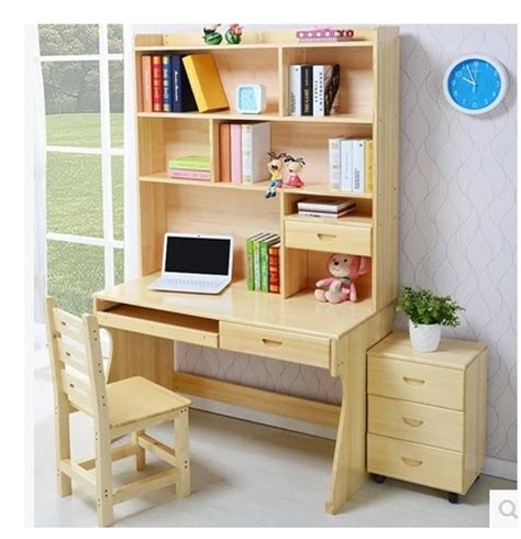 computer desk with shelves free shipping solid wood computer desk with shelves