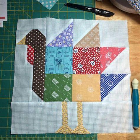 pinterest pattern block turkey turkey block by lori holt pdf pattern called gobble