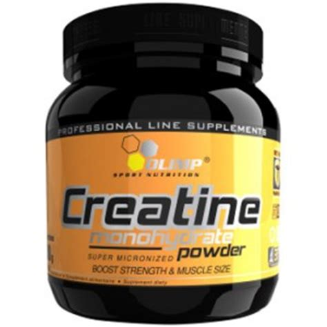 is creapure better olimp creatine monohydrate powder 550g 183 portions