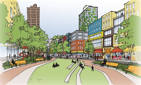 Landscape Design Pictures Gallery Of Community Board Approves Spura Redevelopment