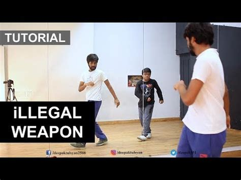 dance tutorial in hindi learn how to dance on quot illegal weapon quot step by step