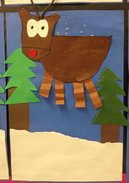 oh deer classroom decoration craft kindergarten reindeer the classroom elementary and