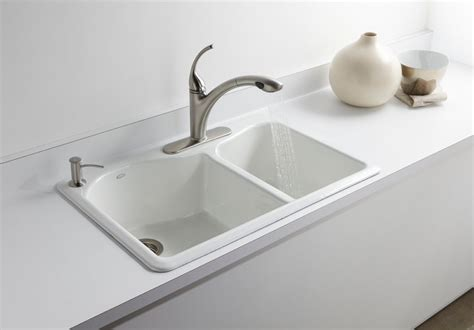 Kohler Sink Rack Sinks Bathroom 14 Archer Undermount Kholer Kitchen Sinks