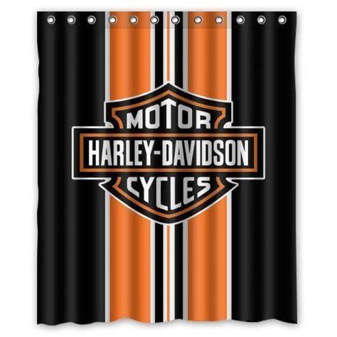 harley davidson shower curtain 29 best harley davidson wall decor images on pinterest