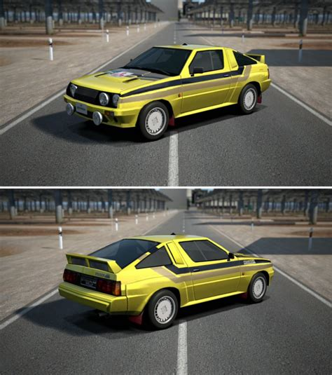 mitsubishi starion rally car mitsubishi starion 4wd rally car 84 by gt6 garage on