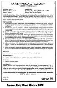 Nutrition Specialist Sle Resume nutrition specialist tayoa employment portal