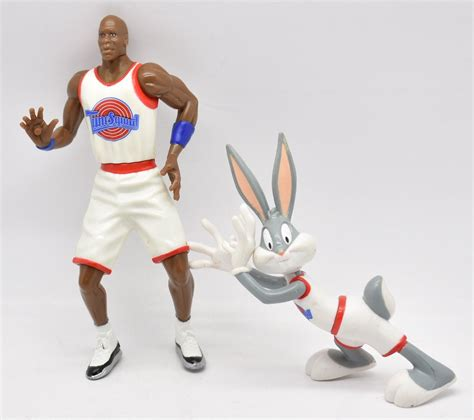 Playmates Space Jam Michael And Bugs Bunny Hyper Surfer space jam vhs home warner brothers michael what s it worth