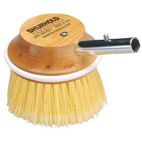 boat deck brush shurhold 5 quot 50 special application deck brush west marine