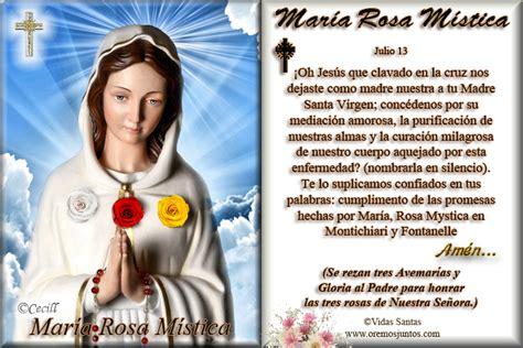 imagen virgen maria rosa mistica vidas santas virgen mar 237 a rosa m 237 stica estita y oraci 243 n