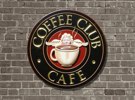 design a cafe sign coffee club cafe sign danthonia designs usa