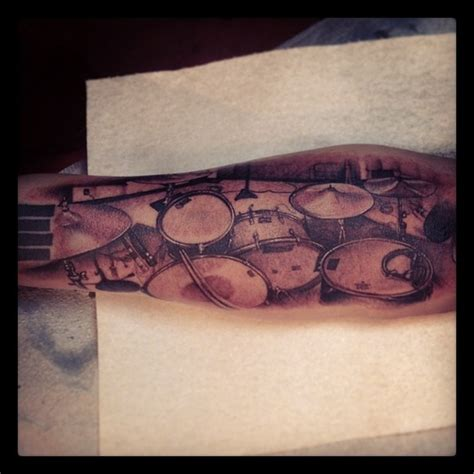 drum tattoos best 25 drum ideas on drummer