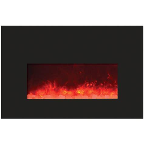 amantii 26 quot insert 26 3825 bg top heat electric fireplace