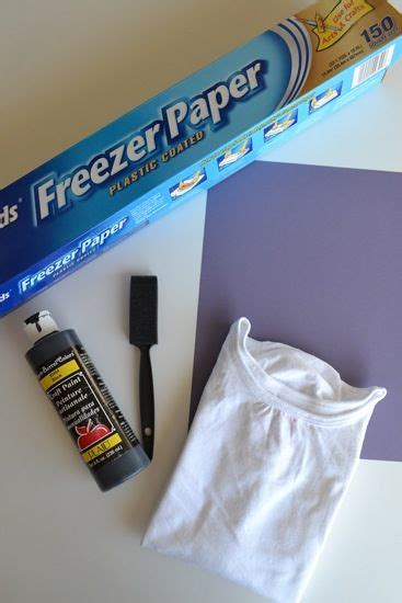 Freezer Paper Craft Ideas - freezer paper crafts my style