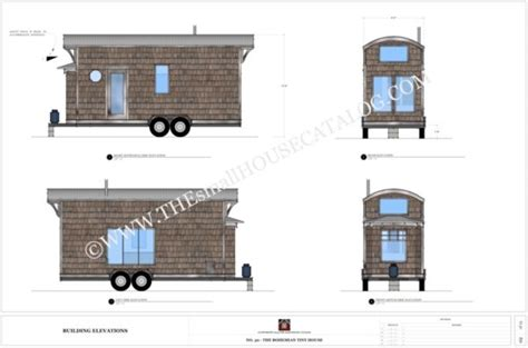 free tiny home plans free tiny house plans the bohemian tiny house on wheels