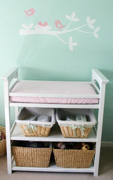 Storage Baskets For Changing Table 17 Best Ideas About Changing Table Storage On Changing Station Changing Tables And