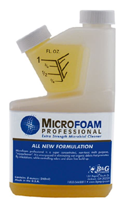 microfoam: control fruit flies, gnats, drain odors