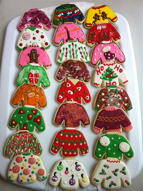 decorated sugar cookies tacky sweaters decorated sugar cookies by i am